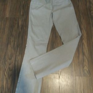 Gray pair of trousers